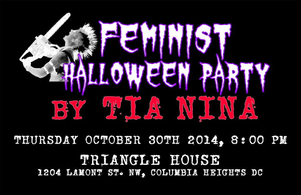 TN Halloween Party handbill