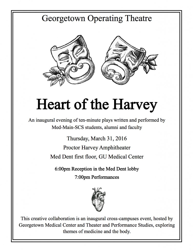 Heart of the Harvey flyer